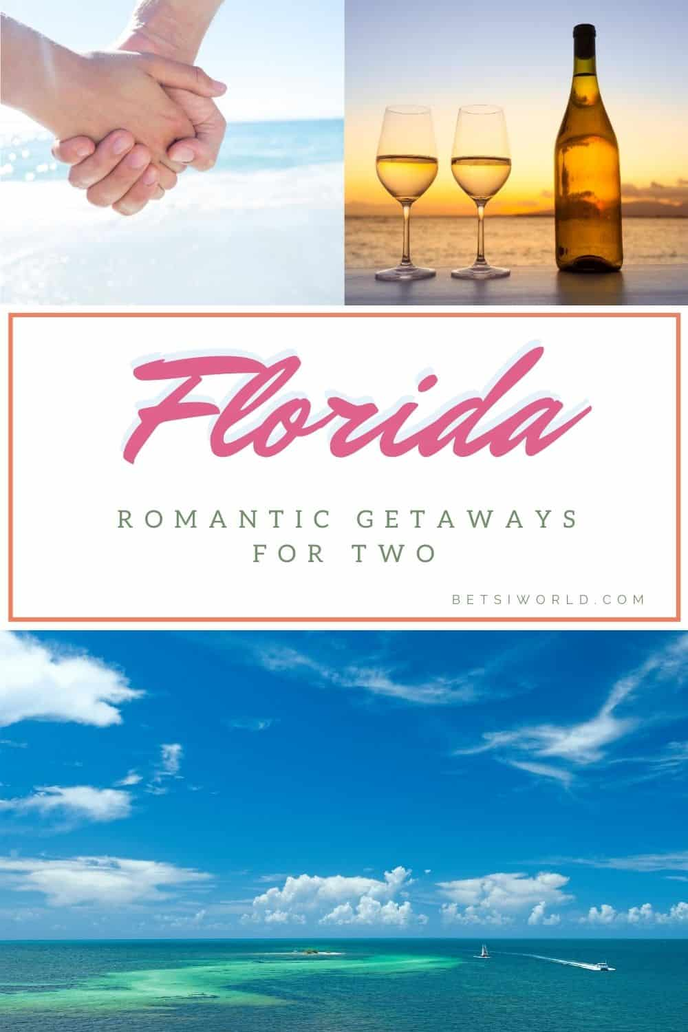 Five of the best romantic getaways in Florida! If you're planning a trip to Florida, then you'll love this list of romantic places to visit! Take vacation to Florida with your significant other this year! #vacation #travel #florida #romantic #getaway