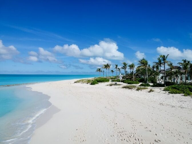 Turks and Caicos is not as well known as the Bahamas, making it ia perfect destination for a romantic getaway