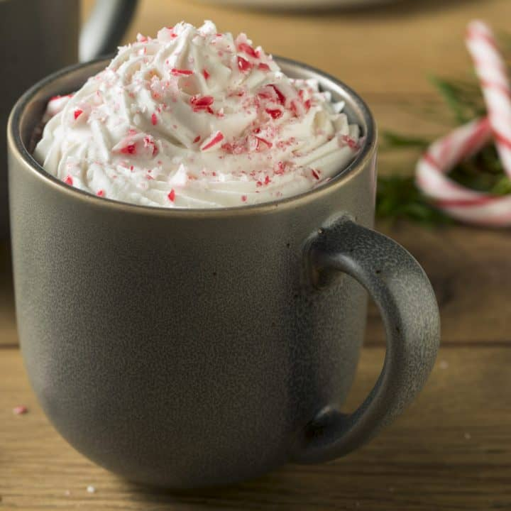 Spiked Peppermint Mocha Hot Cocoa Recipe
