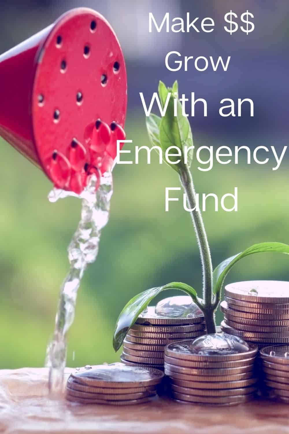 How much cash should you keep in an emergency fund? An emergency fund is a fund of money set aside for unforeseen expenses. The end goal is 3-6 months of income in your emergency fund. #moneywise #emergencyfund #smartmoneytips