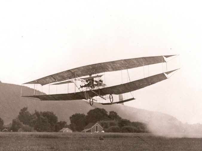 Curtiss 3 June Bug 1908 - courtesy of Glenn H Curtiss Museum