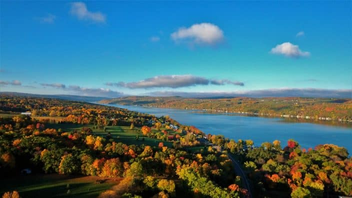 Keuka Lake Fall courtesy of Joe Carroll