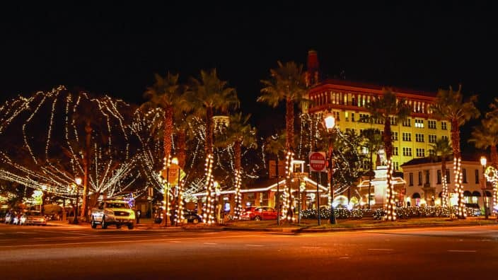 nights of lights turn st. augustine into a wonderland