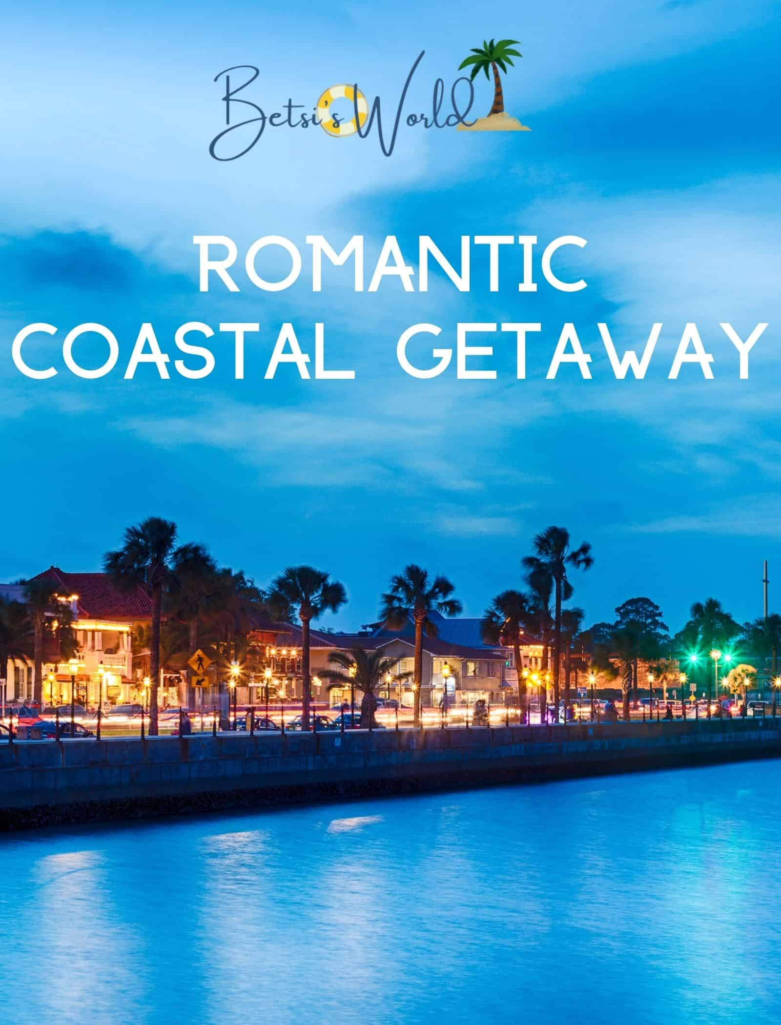 Looking for a romantic coastal holiday getaway? St. Simons, Georgia, and St. Augustine, Florida fit the bill! #coastalgetaway #romanticgetaway #holidaygetaway
