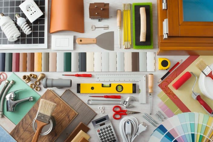 materials for diy home repairs that can help you save money.