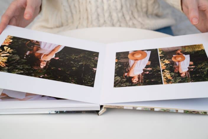 a photo book to remember the last year. A fun way to celebrate New Years Eve at home