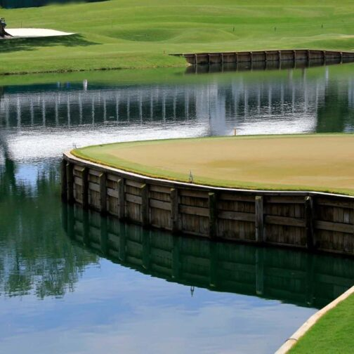 17th hole TPC Sawgrass