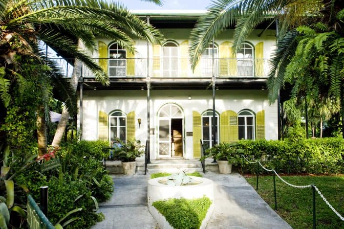 Ernest Hemingway House in Key West, Florida