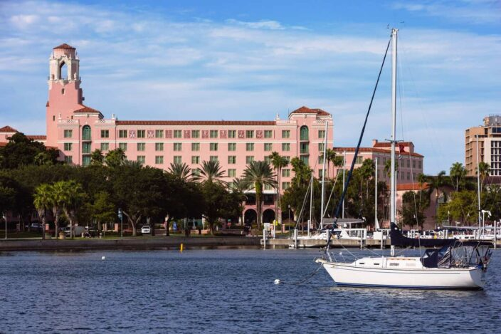 the Vinoy hotel in St. Pete, where to stay for a ,mother's day weekend getaway