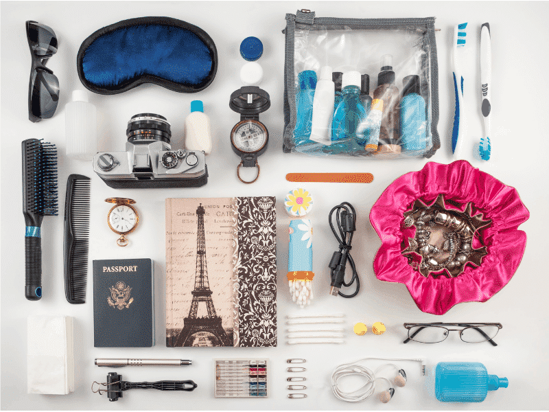Ten Essential Items to Pack for Traveling