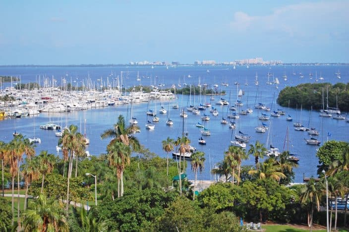 Biscayne Bay, a great day trip from Ft. Lauderdale