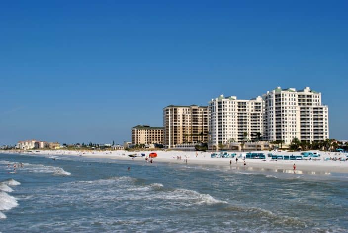 Clearwater Beach a great day trip from Orlando